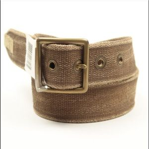 VTG RRL NOS 90s Olive Canvas Cotton Field Belt
